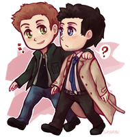 SPN - Free to be you and me by say0ran