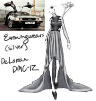 (Silver) DeLorean DMC-12 by GL-Gloria