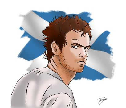Andy Murray by tommytom101