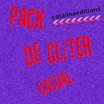 Pack de gliter casual by Catalinaediciones1