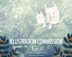 Custom Original Painting Commissions by Foyaland