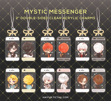 Charms: Mystic Messenger by Haiyun