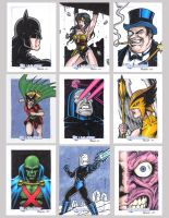 DC Legacy Sketch Cards J by tonyperna