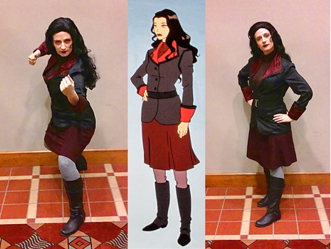 Cosplay: Asami Sato - 'Legend of Korra' Book 3 by TempestFae
