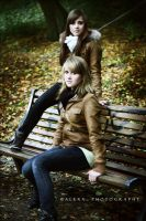Michelle and Tabea II by Alexxchen