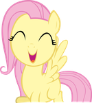 Fluttershy Filly by sautdie