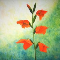 Gladiolus II by Artman225