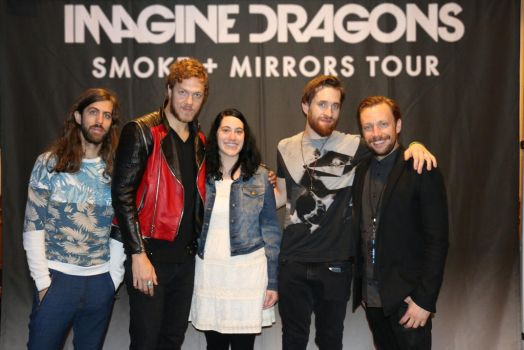 Imagine Dragons and Me by enteringmymind