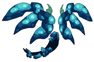 Deep Sea Golem Rune Wings And Tail by teamlpsandacnl
