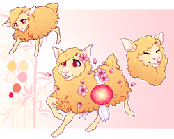December 31st - Chinese New Year sheep by Kiboku