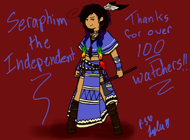 Sera as Alsoomse- THANKS FOR 100 WATCHERS!! by Princess-Seraphim