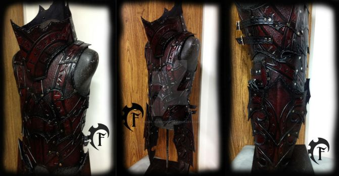 Abyssal Sorcerer Armor by Feral-Workshop