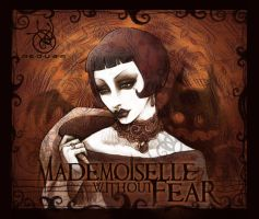 MADEMOiSELLE wt FEAR by Medusa-Dollmaker