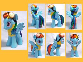 Wonderbolt Academy RD Custom Toy by CadmiumCrab