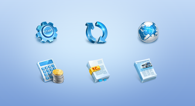 Icons for program Coralway by Deedman