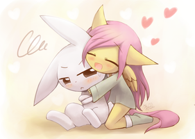 Weekly art#50 huggy pegasus by HowXu