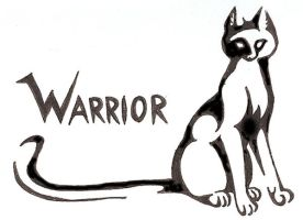 Warrior Cat- Tattoo by CaptainMorwen