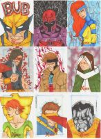 X Men Archives Sketch Cards 7 by wheels9696
