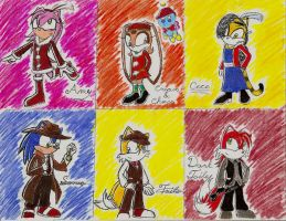 Mafia Sonic Characters2 by TigerBaby27-0