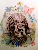 Predator by PortraitArtistKellee