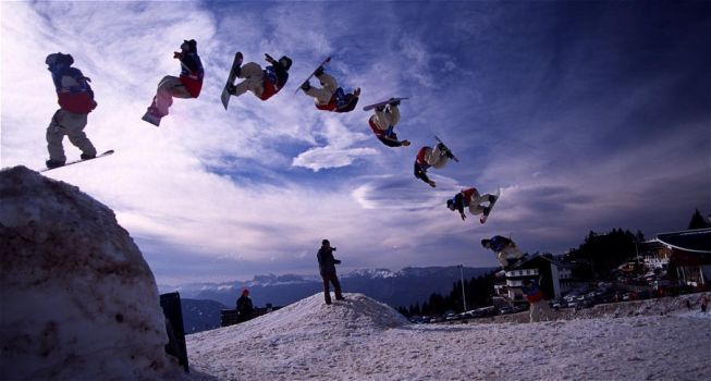 Snowboard - Sequense - Per N by proboarder