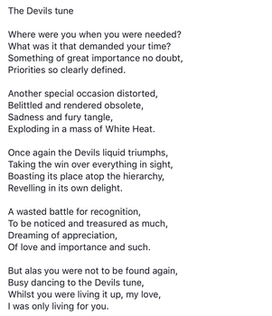 The Devils tune by Lmack49
