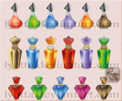 Design perfume cosmetics LZ 01 by Lyotta