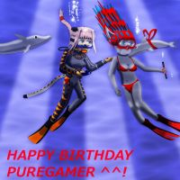 Happy B-Day to Puregamer by Suomipoika11