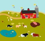 What do the farm animals say? by ysyra