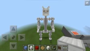 Minecraft - Calico the Cat - Endoskeleton by Poot-the-Magikarp