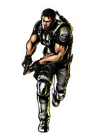 Chris Redfield by geos9104