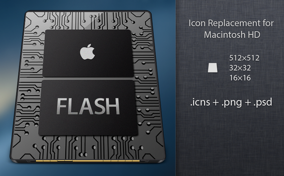 Apple SSD Icon by Sebster456