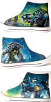 Pacific Rim sneakers by Gohush