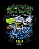 Save Agua, Drink Tequila by obxrussell