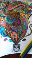 colors everywhere by kumipanqueque