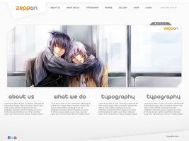Zeppon Web Interface by ZincH21