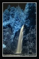 Franklin Falls - Infrared by La-Vita-a-Bella
