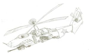 Attack Helicopter by Noxulous
