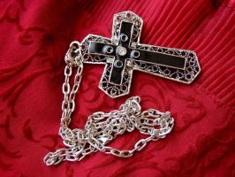Gothic cross II stock by AnnFrost-stock