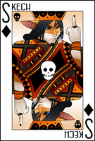 King Card Skech by LockworkOrange