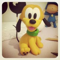 Pluto (Disney) by joedsonrosa