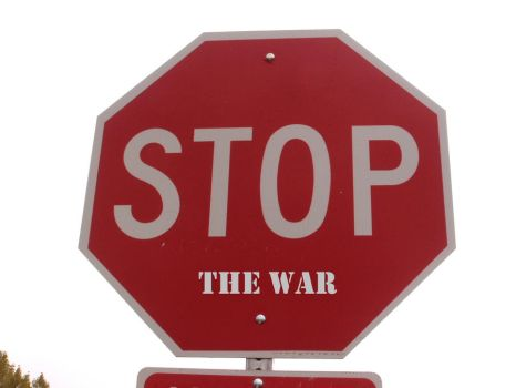 Stop The War by MSGraphix