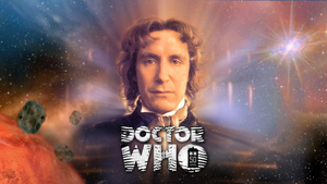 50th Anniversary Paul McGann Wallpaper Ver. 1 by theDoctorWHO2
