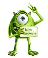 Mike Wazowski by RenRoyal