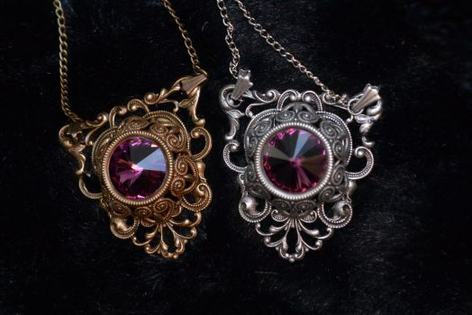 Victorian Gothic in Amethyst by MonstersInThewall