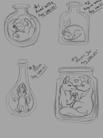 $5 Bottle ych [OPEN] by Shadow-Crystol