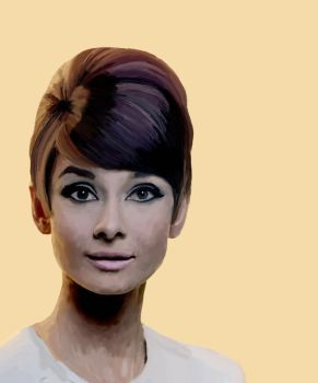 Audrey Hepburn by Brenners