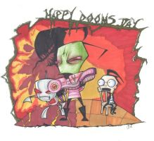 Happy Dooms Day by PurtyMuffin