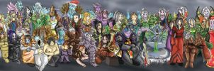 the biggest guild art ever by Vamphira