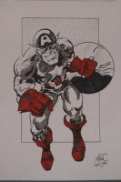 Captain America - Philly 2010 by markwelser